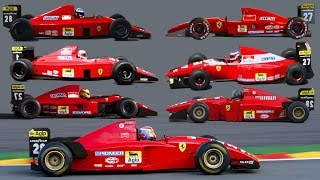 Ferrari F1 V12 special (1989-1995) 6.000.000 views special
