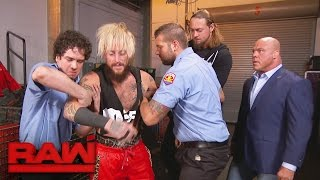 Enzo Amore is mysteriously attacked backstage: Raw, May 22, 2017