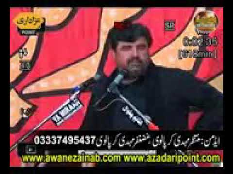 Zakir Syed Amir Abbas Rabbani 10 Safar  Mandi