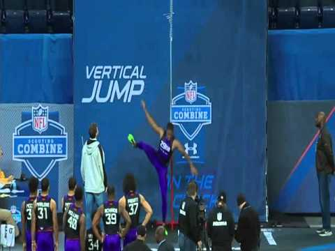 Byron Jones Sets New World Record With A 12Ft, 3 Inch Broad Jump