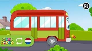 De Wielen Van De Bus | NON-STOP | Kinderliedjes | Liedjes voor peuters en kleuters | Minidisco