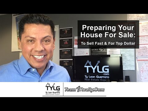 Preparing your house for sale to sell fast for top for How to sell your house for top dollar