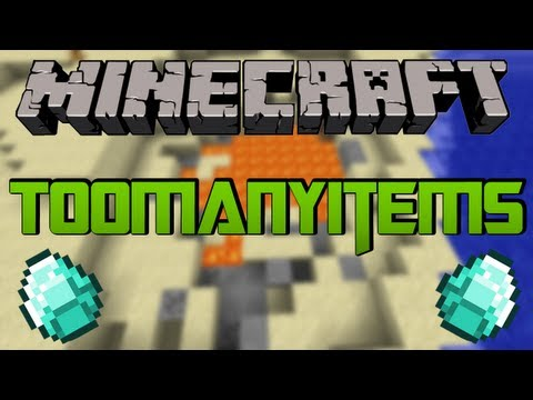 MINECRAFT MOD: TOOMANYITEMS [1.7.4] HD [German/Deutsch] Review/Tutorial