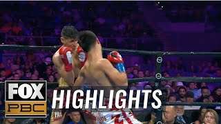 Omar Juarez defeats Gino De La Paz by TKO after vicious right hook | HIGHLIGHTS | PBC ON FOX