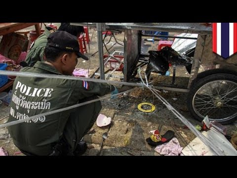 Bangkok grenade attack kills two at Sunday rally