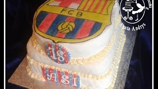 How To Make Fc Barcelona Cupcakes Part  Cupcake Tutorial Mp Free