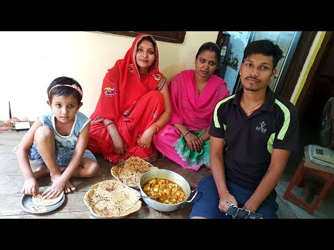 SPECIAL Day ROUTINE With SACHIN's Mom | DELICIOUS Matar Paneer Recipe | Easy Paratha Recipe