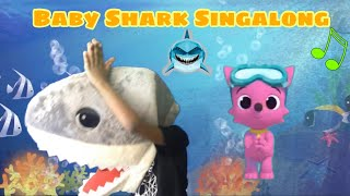 Baby shark sing-a-long [pepper -solo] pinkfong song for children