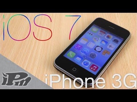 iOS 7 auf iPhone 3G. 2G. iPod Touch 2G. 1G installieren - ANLEITUNG