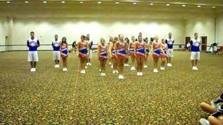 Extreme Routine- UCA cheer camp '09
