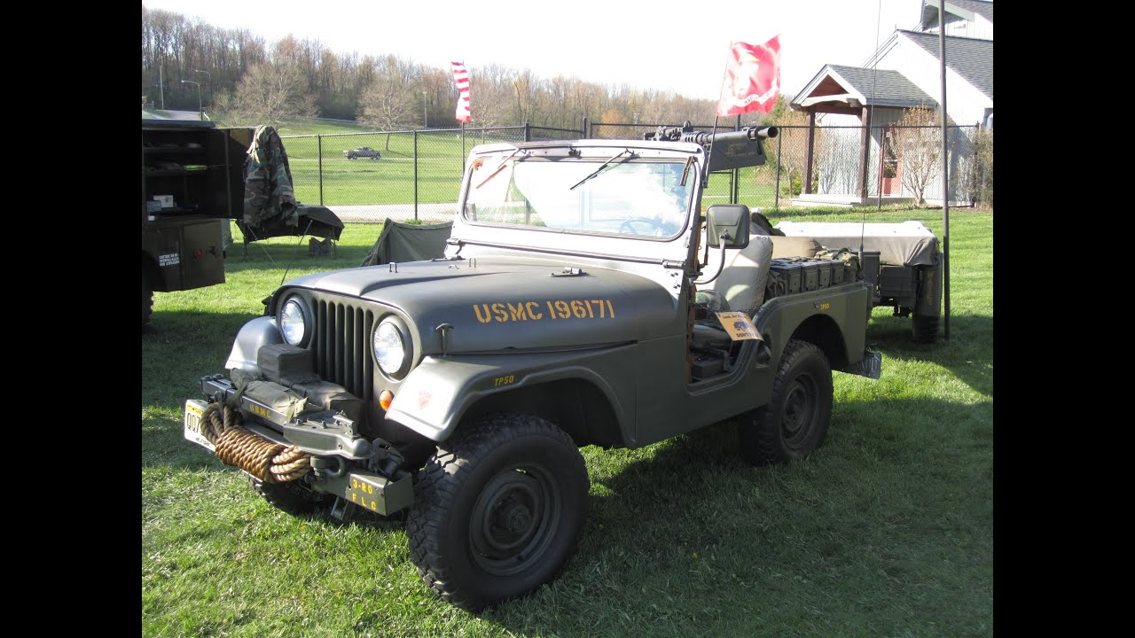 Military Jeep For Sale >> 1965 Willys M38A1 Military Jeep || CJ-5 - YouTube