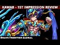 Crocodile Lord Kawab 1st Impression Review (Brave Frontier Global)