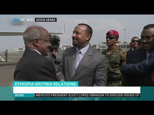 Eritrea's president visits Ethiopia as relations improve