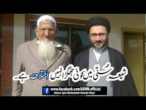 Shia Sunni me Koi Jhagra nhh  Iktelaf hen