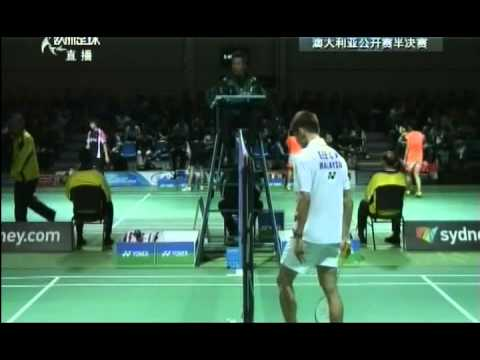 2013 YONEX Australian Open-MS-Semi Finals-Houwei Tian vs. Chong Wei Lee(田厚威_vs_李宗伟)