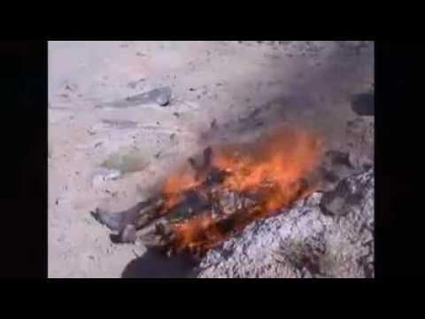 Afghanistan - US Soldiers Burn Muslim Corpses