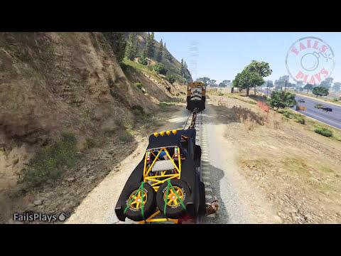 GTA 5 FUNNY MOMENTS / BRUTAL #27 (Grand Theft Auto V Fails Plays)