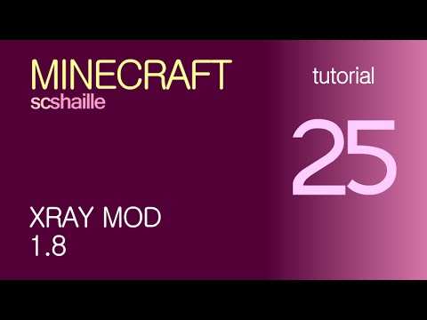 EN Minecraft tutorials: XRay 1.8 - how to download and install the mod