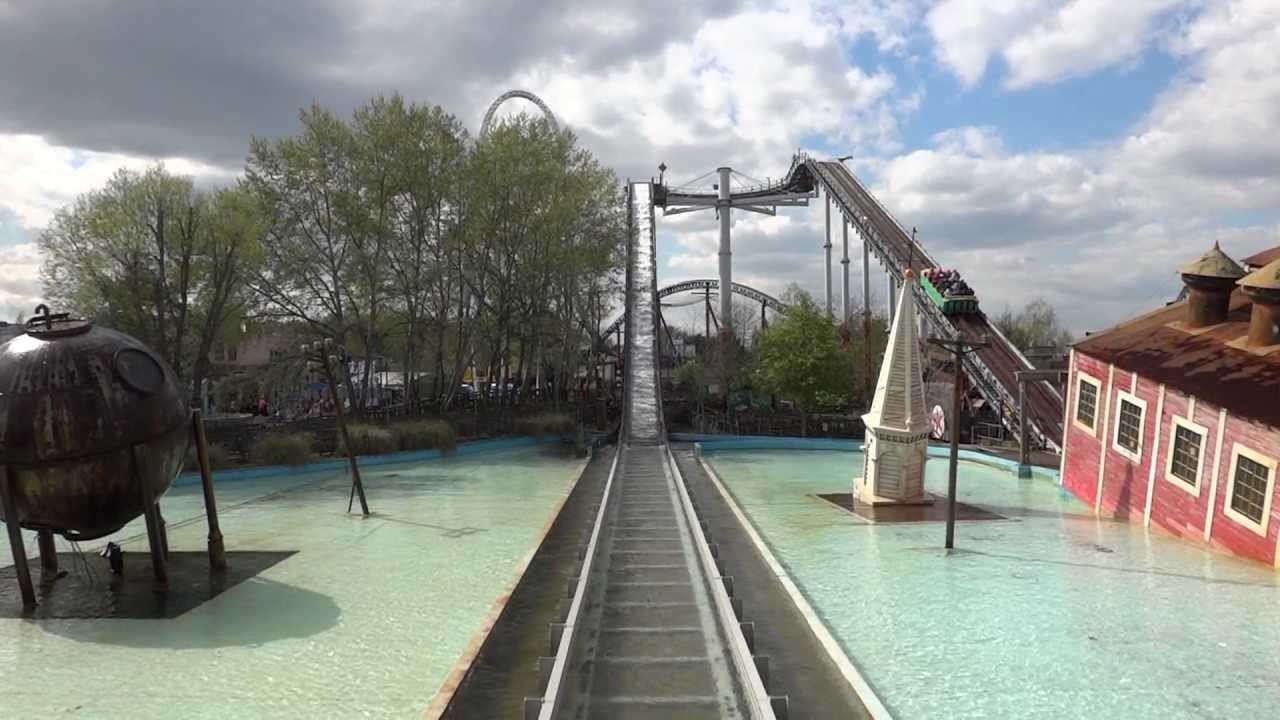 Tidal Wave Thorpe Park Youtube