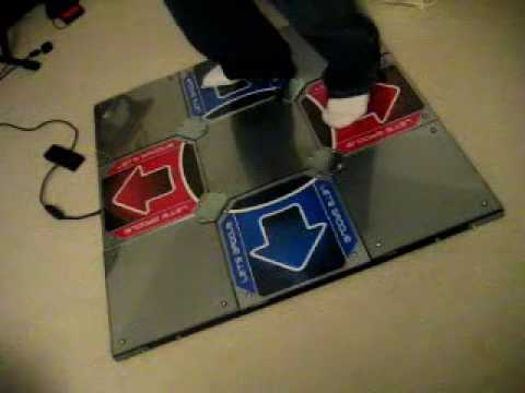 Cobalt Flux Metal Ddr Dance Pad Youtube