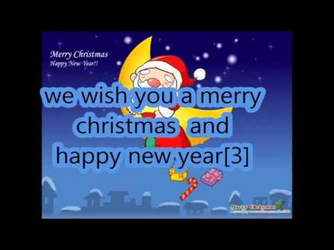 We wish you a merry christmas + lyrics.