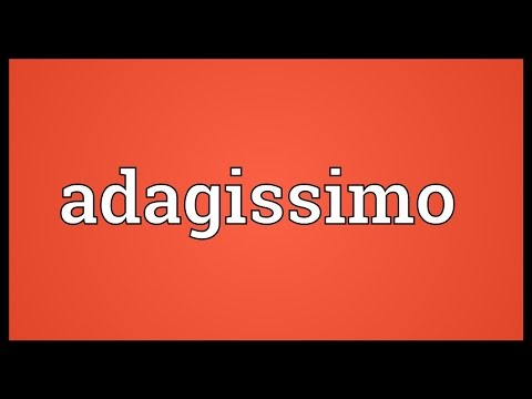 Header of adagissimo