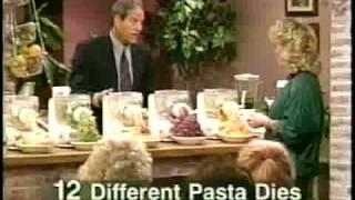 Ron Popeil Pasta Maker - Infomercial - Part 1