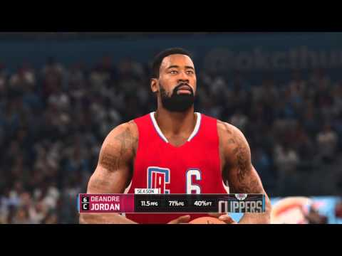 NBA Live 16 - Oklahoma City Thunder vs Los Angeles Clippers | Full Match (60fps 1080p)