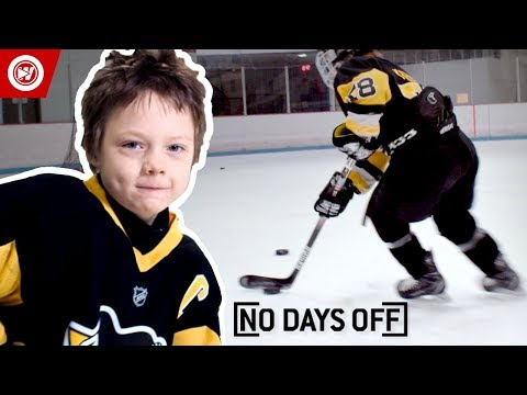 8-Year-Old Sidney Crosby   Roman Marcotte Hockey Highlights