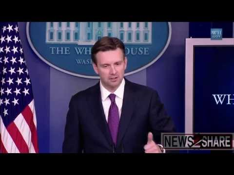 Josh Earnest Asked About Russian Action to Remove Sanctions
