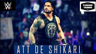 Sirre De Shikhari Punjabi Song||Roman Reigns||Punjabi Video||Funny||WWE in Punjabi||