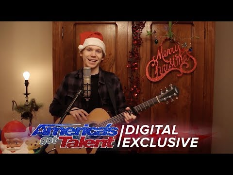 Chase Goehring: Hip Acoustic Cover of Jingle Bells - America's Got Talent 2017