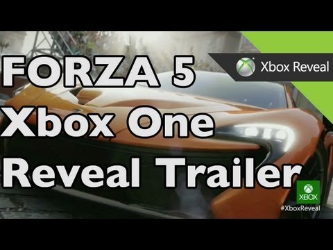 Forza Motorsport 5 REVEAL TRAILER! Xbox One Footage from the New Xbox Announcement