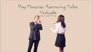 Rap Monster (김남준) & Yuiko (유이코) - 우산 (Umbrella) Lyrics [Color-Coded, HAN/ROM/ENG]