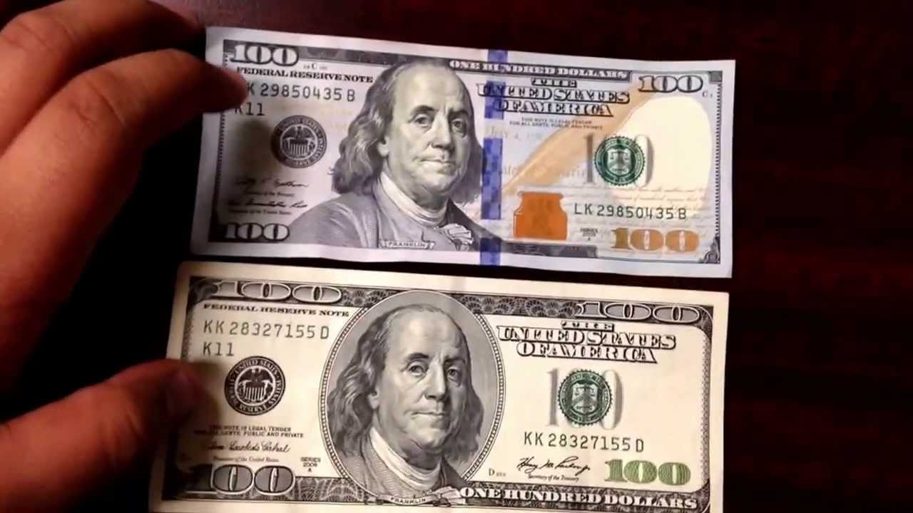 counterfeit 100 bills how to tell
