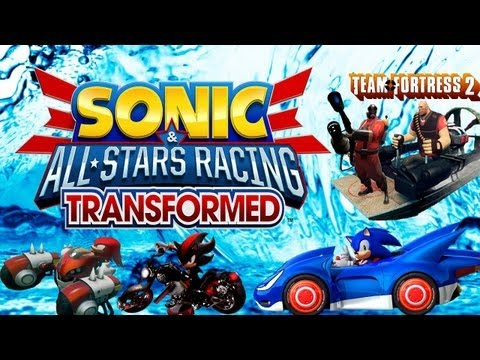 Sonic Transformed - Gameplay com Boneco do Team Fortress