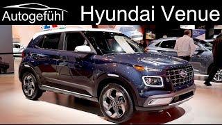 Hyundai Venue REVIEW Exterior Interior Premiere - Autogefühl