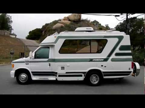 Chinook Concourse RV Motorhome Class C or B Solar Powered Ford Camper For Sale