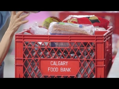 Food bank in Canada sees surge with oil bust