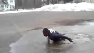 Прыжок за 1$ в мааааленькую лужу / Leap for $ 1 in a small puddle