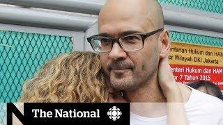 Canadian teacher imprisoned in Indonesia returns home