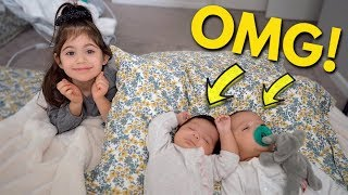 PREMATURE TWINS FIRST MILESTONE CAUGHT ON CAMERA!!!