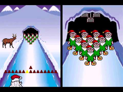 Elf Bowling 1 & 2 - Elf Bowling 1 (GBA) - User video