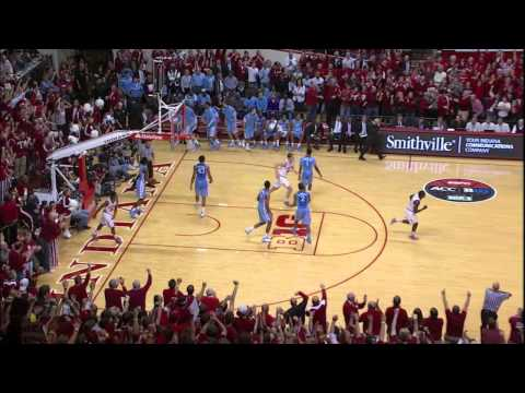 North Carolina at Indiana Highlights