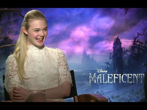 Elle Fanning Interview - Maleficent (2014) JoBlo.com HD