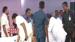 I Never Seen This Type Of Leader : Ravi Kumar Vemuri | Dharma Poratam Deeksha@ Vijayawada