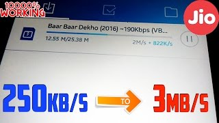 how to increase Reliance Jio speed [With Proof]
