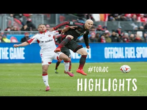 HIGHLIGHTS: Toronto FC vs. D.C. United | March 22, 2014