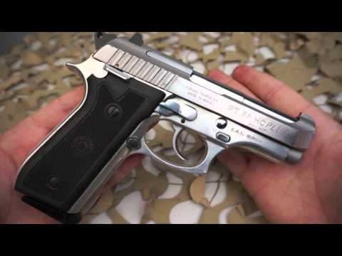 Taurus PT58HC Plus 92FS 81BB Stainless Cheetah Clone 380ACP Pistol Overview - Texas Gun Blog