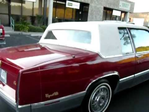 1990 cadillac coupe deville u1177 walk around 1 youtube. Black Bedroom Furniture Sets. Home Design Ideas
